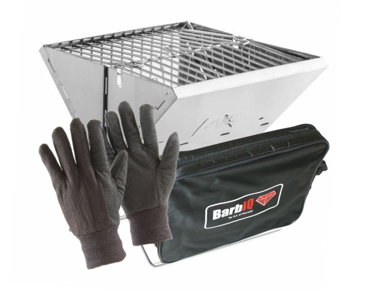 BarbIQ Foldable and Portable BBQ with Gloves | BarbIQ.no