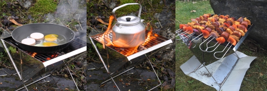 Grillverktøy til vår sammenleggbare turgrill | BarbIQ.no